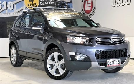 2013 Holden Captiva
