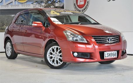 2007 Toyota Blade HATCH FREE ON ROAD COSTS Test Drive Form