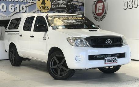 2011 Toyota Hilux D/CAB 3.0 T/DIESEL 2WD Test Drive Form