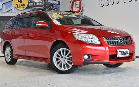 2008 Toyota Corolla FIELDER Test Drive Form