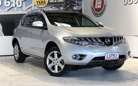 2009 Nissan Murano 350 XV 4WD LEATHER Test Drive Form