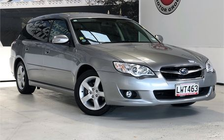 2007 Subaru Legacy B SPORTS TOURING WAGON Test Drive Form