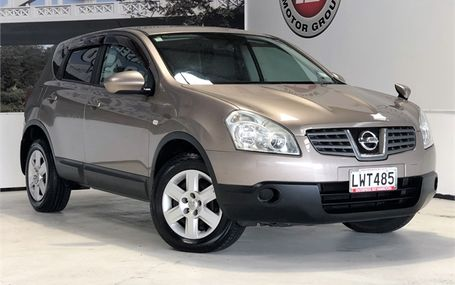2007 Nissan Dualis 20S 4WD MODEL Test Drive Form