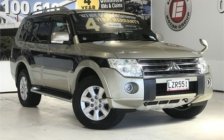 2009 Mitsubishi Pajero EXCEED DIESEL 7 SEATER 4WD Test Drive Form