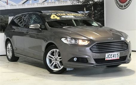 2015 Ford Mondeo WAGON AMBIENTE DIESEL Test Drive Form