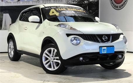 2012 Nissan Juke RX TYPE V Test Drive Form