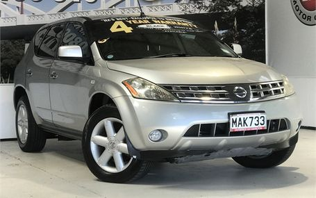 2005 Nissan Murano 350 XV 75,000 KMS Test Drive Form