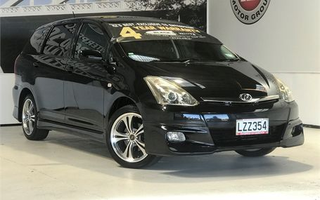 2008 Toyota Wish X AERO SPORTS PACKAGE Test Drive Form