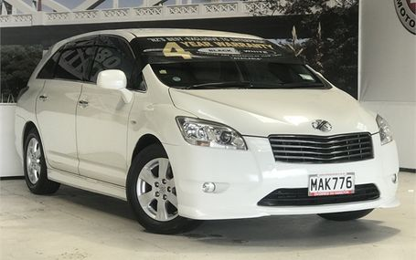 2008 Toyota Mark X Zio 8 AIRBAG 7 SEATER Test Drive Form