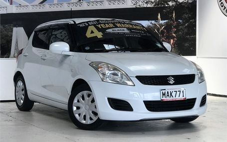 2011 Suzuki Swift XG NEWER SHAPE Test Drive Form
