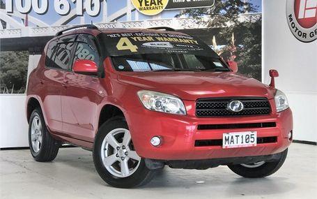 2007 Toyota RAV4 G 4WD MODEL Test Drive Form