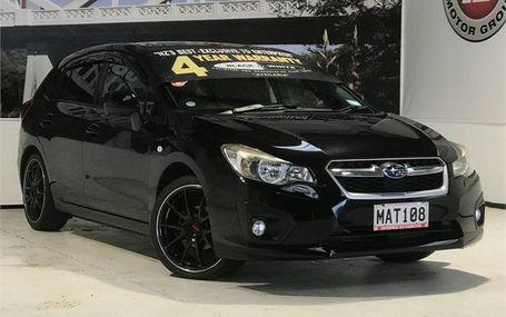 2012 Subaru Impreza SPORTS SUPER LOOK Test Drive Form
