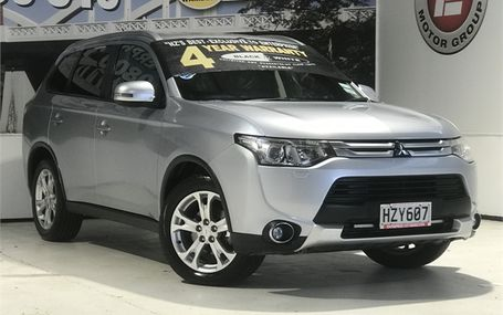 2015 Mitsubishi Outlander XLS 7 SEATER 4WD Test Drive Form