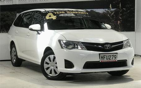 2014 Toyota Corolla WAGON GX PETROL Test Drive Form