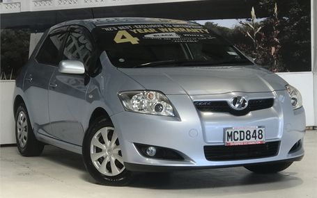 2007 Toyota Auris