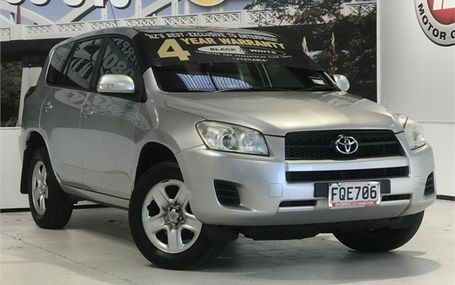 2010 Toyota RAV4 4WD NZ NEW SUV Test Drive Form