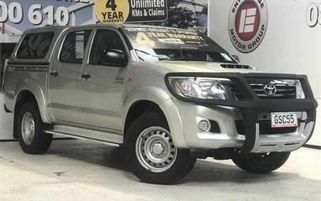 2013 Toyota Hilux 4WD D/CAB 3.0 T/DSL DC UTE Test Drive Form