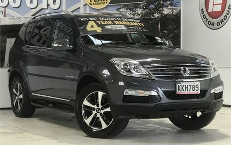 2017 SsangYong Rexton SPORTS 38,402 KMS Test Drive Form