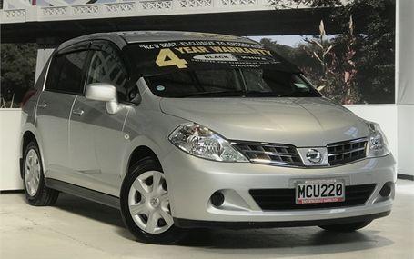2009 Nissan Tiida 15M ECONOMICAL HATCH Test Drive Form