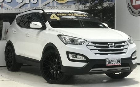 2013 Hyundai Santa Fe DM 7 SEATER - 22`` ALLOYS Test Drive Form