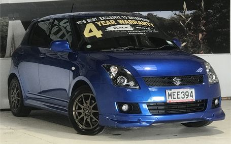 2010 Suzuki Swift XG AERO STUNNING COLOUR Test Drive Form