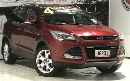 2015 Ford KUGA TREND AWD DIESEL Test Drive Form
