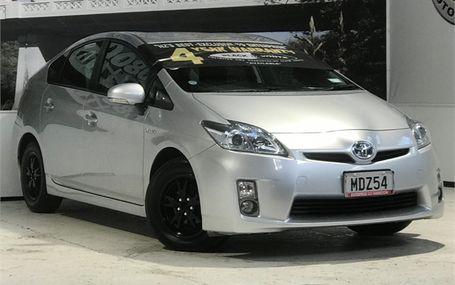 2010 Toyota Prius HYBRID Test Drive Form