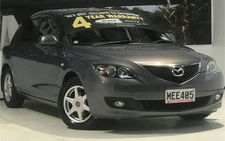 2007 Mazda Axela SPORTS HATCH Test Drive Form