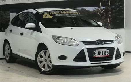 2012 Ford Focus AMBIENTE 1.6 A H Test Drive Form