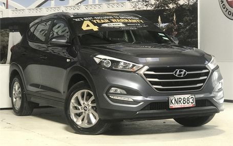 2017 Hyundai Tucson CRDI 4WD NEW SHAPE Test Drive Form