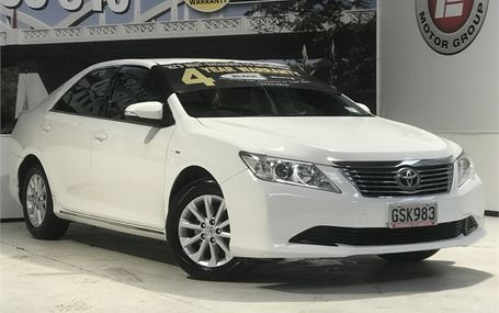 2013 Toyota Aurion 3.5 AT-X 69,000 KMS Test Drive Form