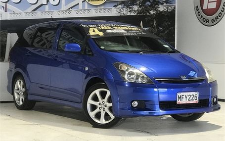 2005 Toyota Wish Z HOT COLOUR Test Drive Form