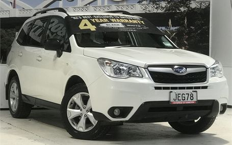 2015 Subaru Forester 4WD 2.5 WAGON Test Drive Form