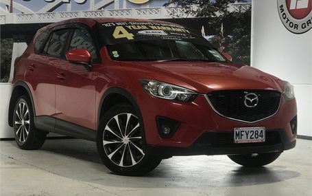 2012 Mazda CX-5 SKYACTIV Test Drive Form