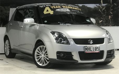 2008 Suzuki Swift SPORTS Test Drive Form