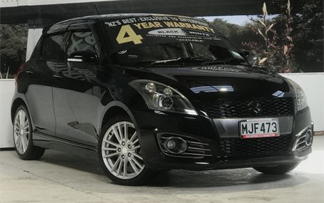 2012 Suzuki Swift SPORT HID CRUISE CONTROL Test Drive Form