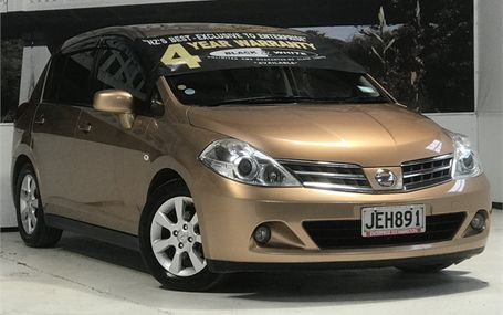 2010 Nissan Tiida 18G POPULAR HATCH Test Drive Form