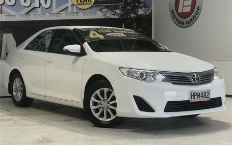 2014 Toyota Camry GL 2.5 NZ NEW SEDAN Test Drive Form