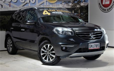 2012 Renault Koleos 4X4 DARE TO BE DIFFERENT Test Drive Form