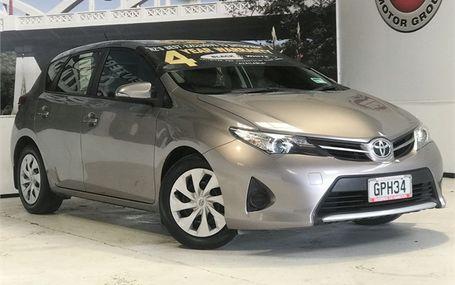 2012 Toyota Corolla GX 1.8 HATCH Test Drive Form