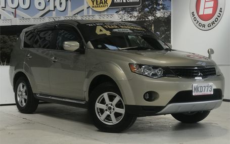 2009 Mitsubishi Outlander 24G 7 SEATER 4WD Test Drive Form