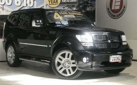 2011 Dodge Nitro 3.7 SXT 80,000 KMS Test Drive Form