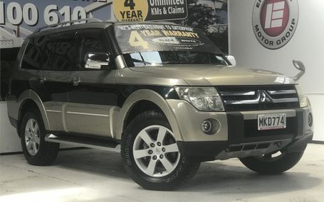 2006 Mitsubishi Pajero EXCEED 56,000 KMS Test Drive Form