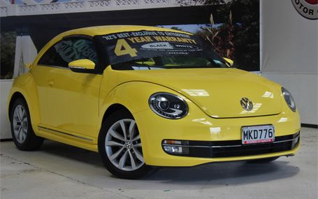 2012 Volkswagen Beetle LEATHER PACK Test Drive Form