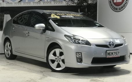 2010 Toyota Prius HYBRID G TOURING Test Drive Form
