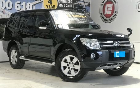 2008 Mitsubishi Pajero LONG EXCEED 4WD Test Drive Form