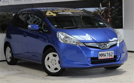 2010 Honda Fit HYBRID AWESOME COLOUR Test Drive Form