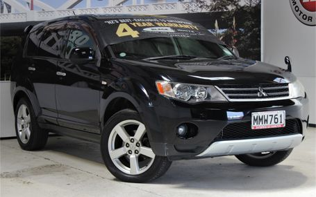 2007 Mitsubishi Outlander G 7 SEATER 4WD Test Drive Form