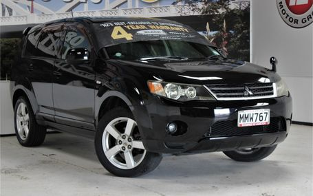 2007 Mitsubishi Outlander 7 SEATER 4WD Test Drive Form