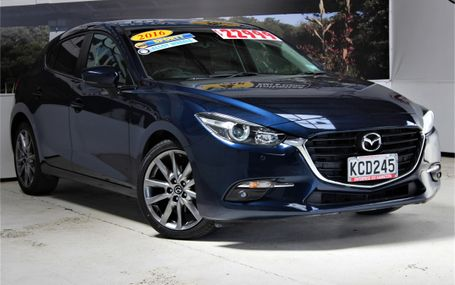 2016 Mazda 3 SP25 71,000 KMS Test Drive Form